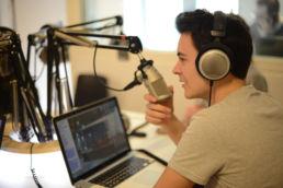 Etudiant Medialab-Radio