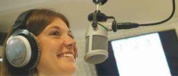 Etudiante FLSH à la radio UCLille