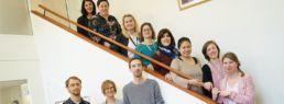 photo équipe formateurs du centre des langues le clarife