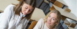étudiantes en master enseignement