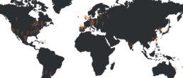 carte universités partenaires