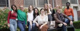 Etudiants en Master Lettres numériques à FLSH Lille
