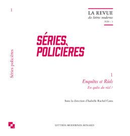 Couverture du livre Séries policières