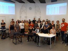 photo d'équipe du centre des langues clarife lille