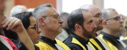 Photo de quelques chercheurs de la FAculté des Lettres et Sciences Humaines de La Catho Lille