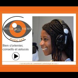 Visuel podcast interviews animé par Rosemitha